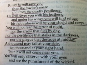 April 24 Psalm 91