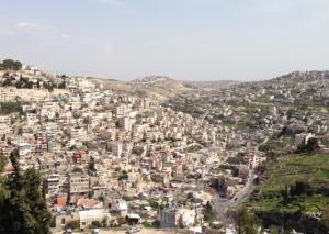 jerusalem from the city of david