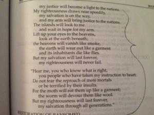 July 17b 2014  Isaiah 2014