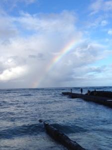 rainbow in hawaii 2014