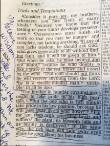 James 1- 1-9