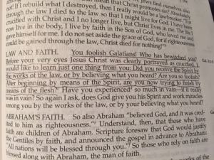 Nov 26 2014 you foolish Galatians