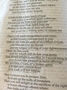 April 11 2015 Psalm 51, 2015