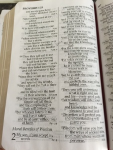 Proverbs 2 1st page - this one