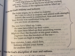 May 1 psalm 93 2016