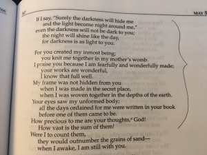 May 5 b psalm 139 2016
